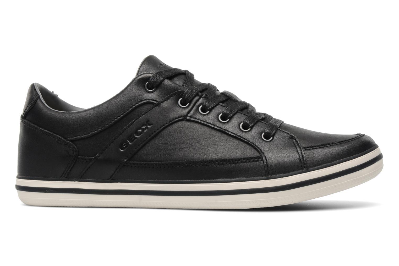 Sneakers Geox U BOX M Zwart achterkant