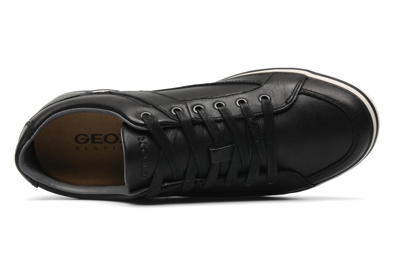 Sneakers Geox U BOX M Zwart links