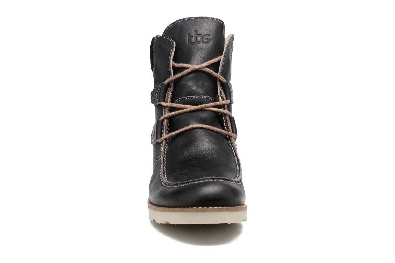 Bottines et boots TBS Ariana Noir vue portées chaussures