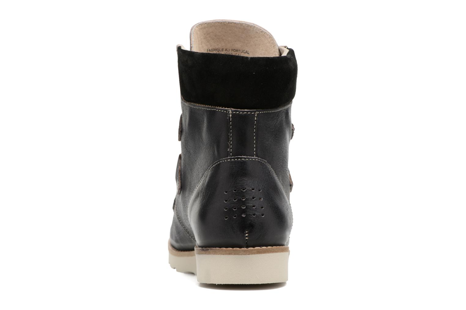 Ankle boots TBS Ariana Black view from the right