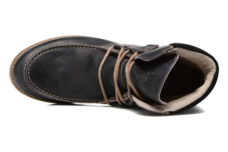Bottines et boots TBS Ariana Noir vue gauche