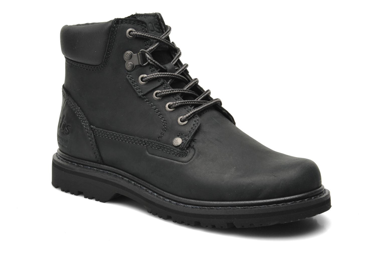 Boots en enkellaarsjes TBS Sefano Zwart detail