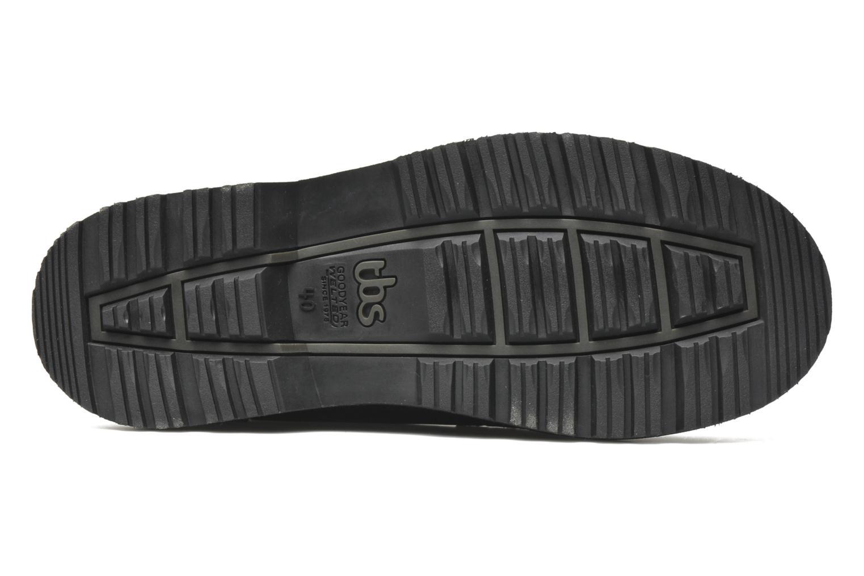 Chaussures à lacets TBS Stuart Noir vue haut