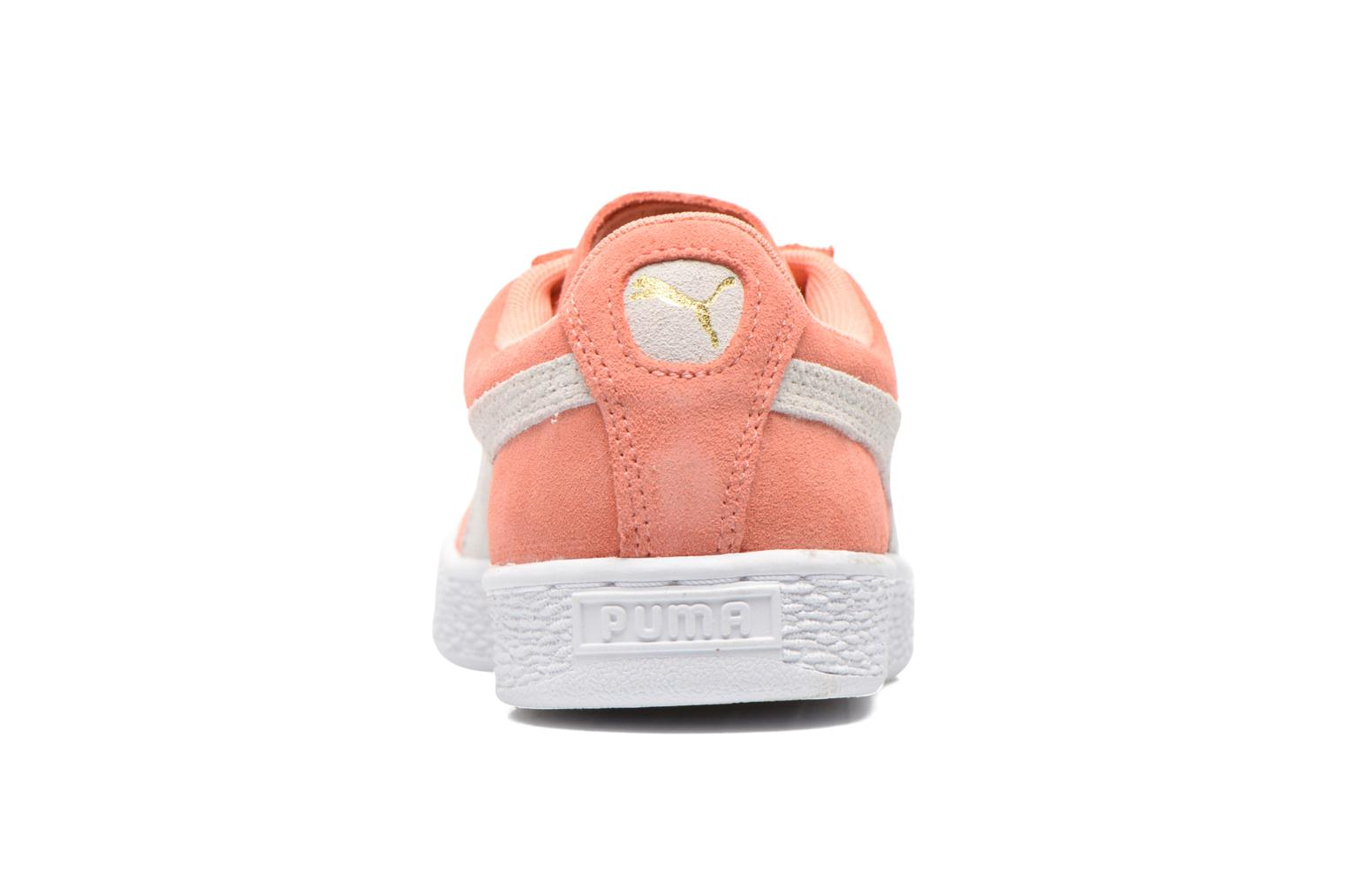 Trainers Puma Suede Classic Wn's Orange view from the right