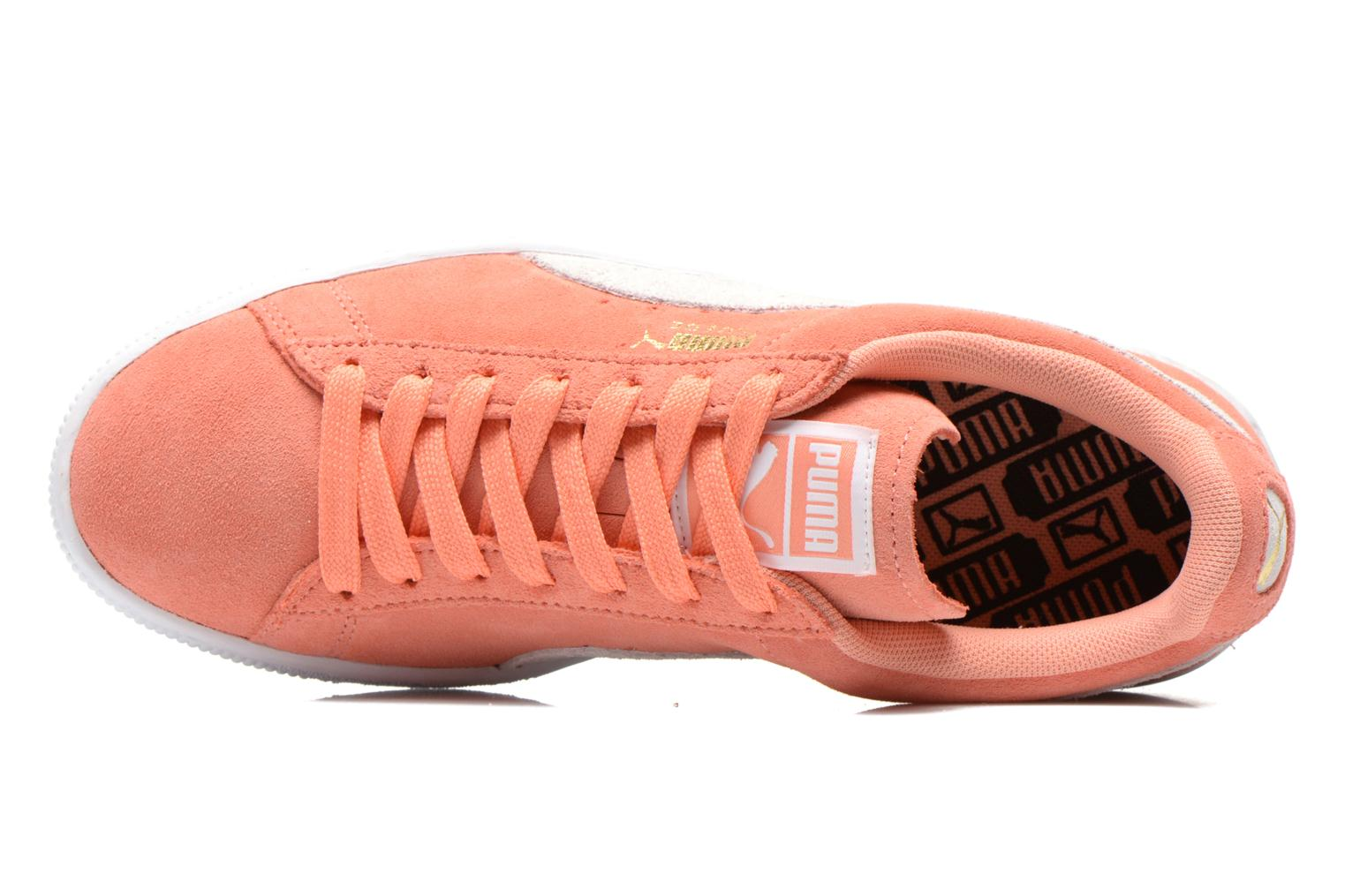 Trainers Puma Suede Classic Wn's Orange view from the left