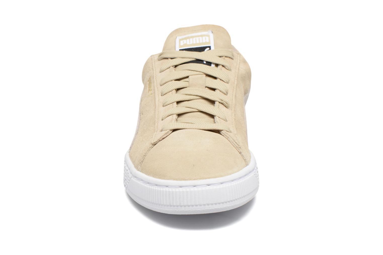 Baskets Puma Suede Classic Wn's Beige vue portées chaussures