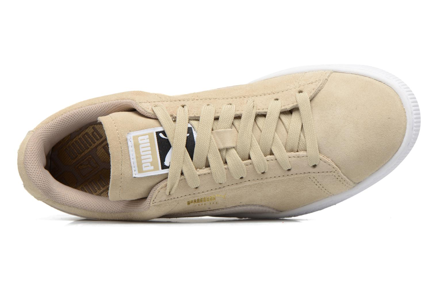 Trainers Puma Suede Classic Wn's Beige view from the left