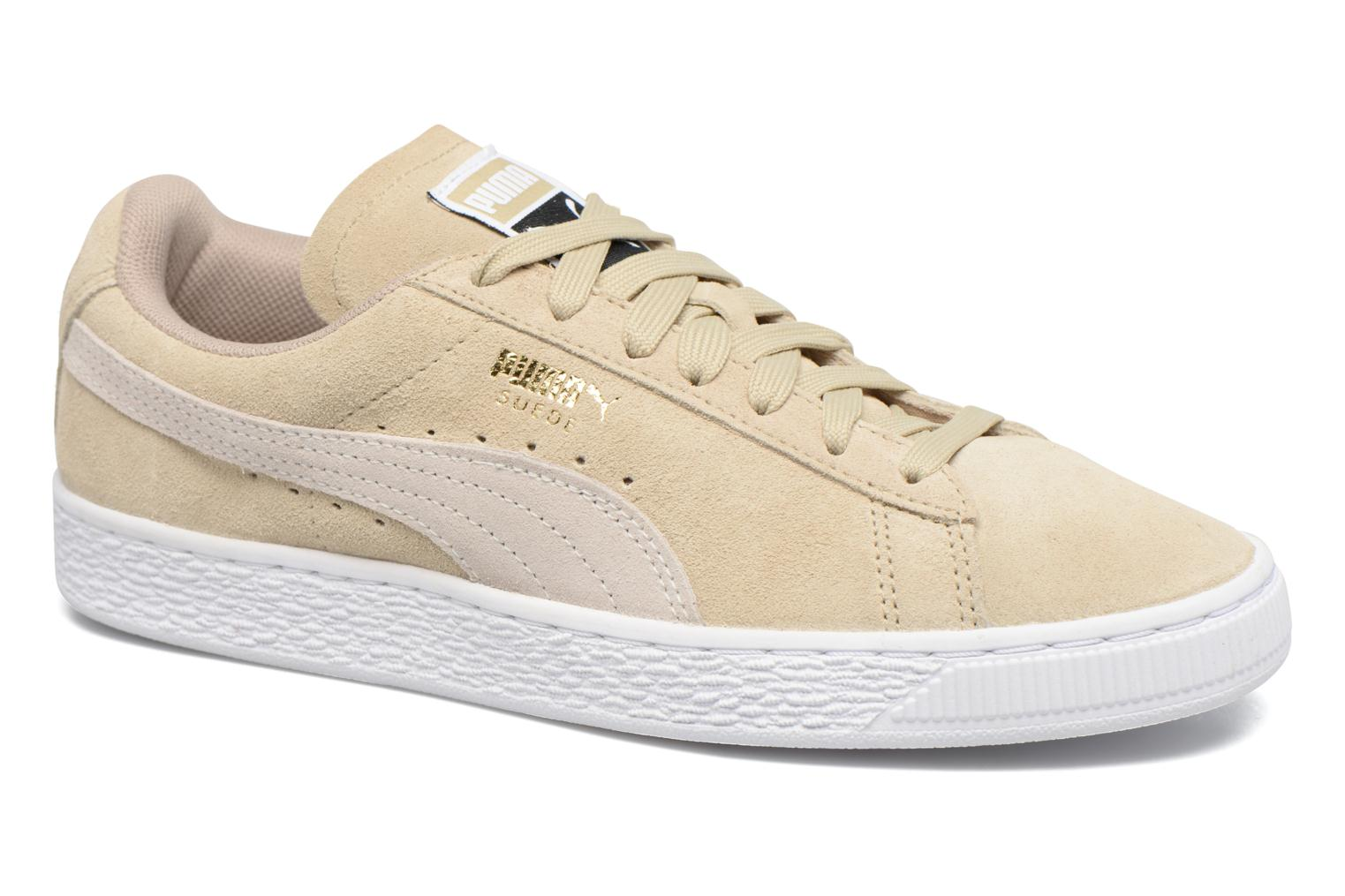 Trainers Puma Suede Classic Wn's Beige detailed view/ Pair view