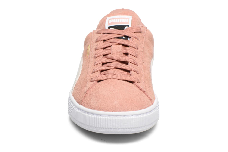 Sneaker Puma Suede Classic Wn's rosa schuhe getragen