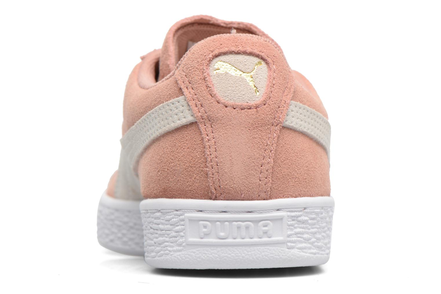 Trainers Puma Suede Classic Wn's Pink view from the right