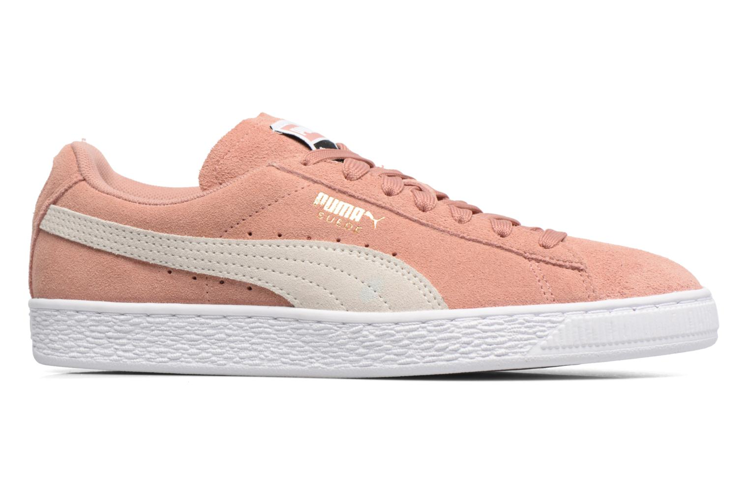 Trainers Puma Suede Classic Wn's Pink back view
