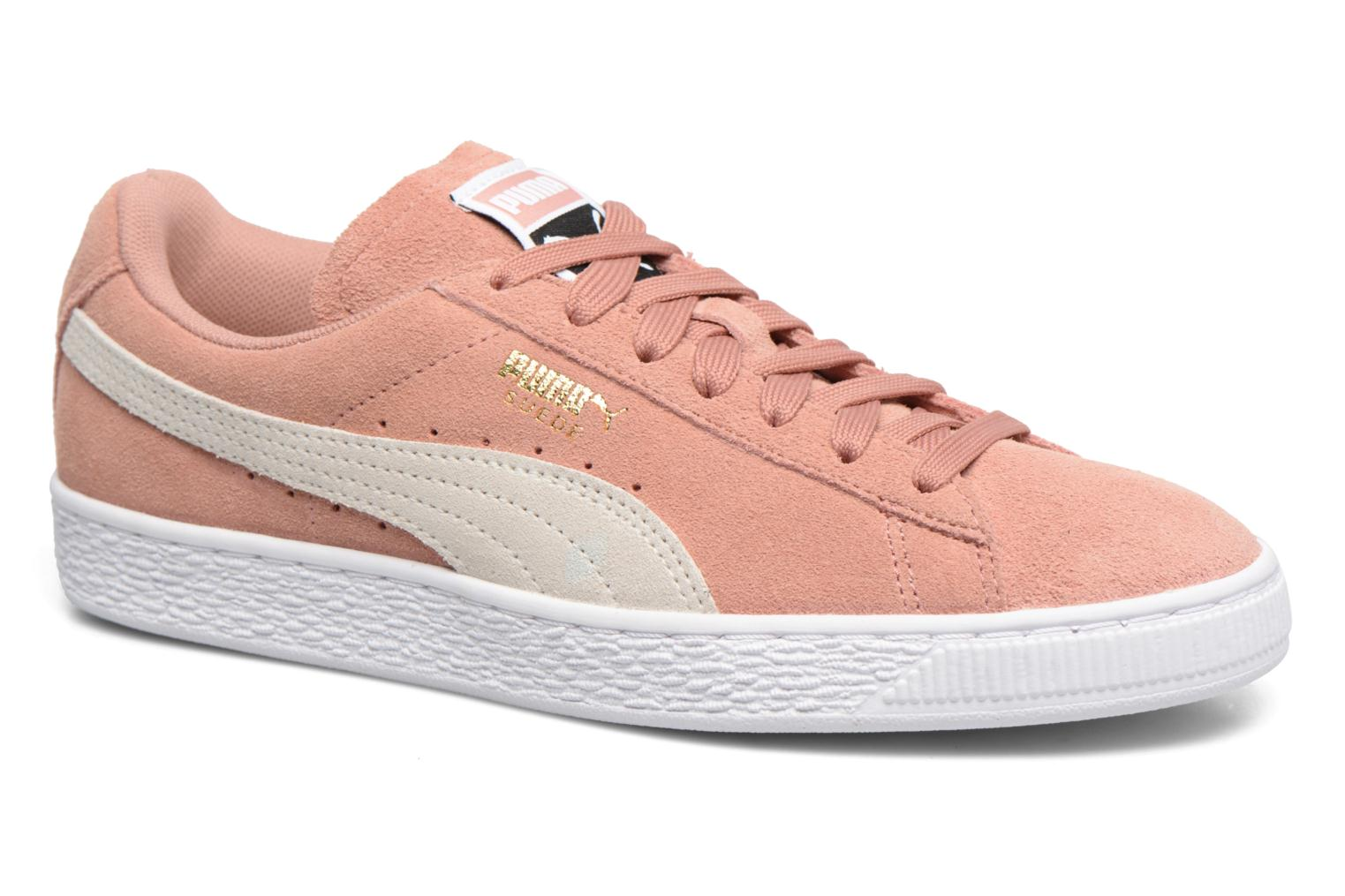 Trainers Puma Suede Classic Wn's Pink detailed view/ Pair view