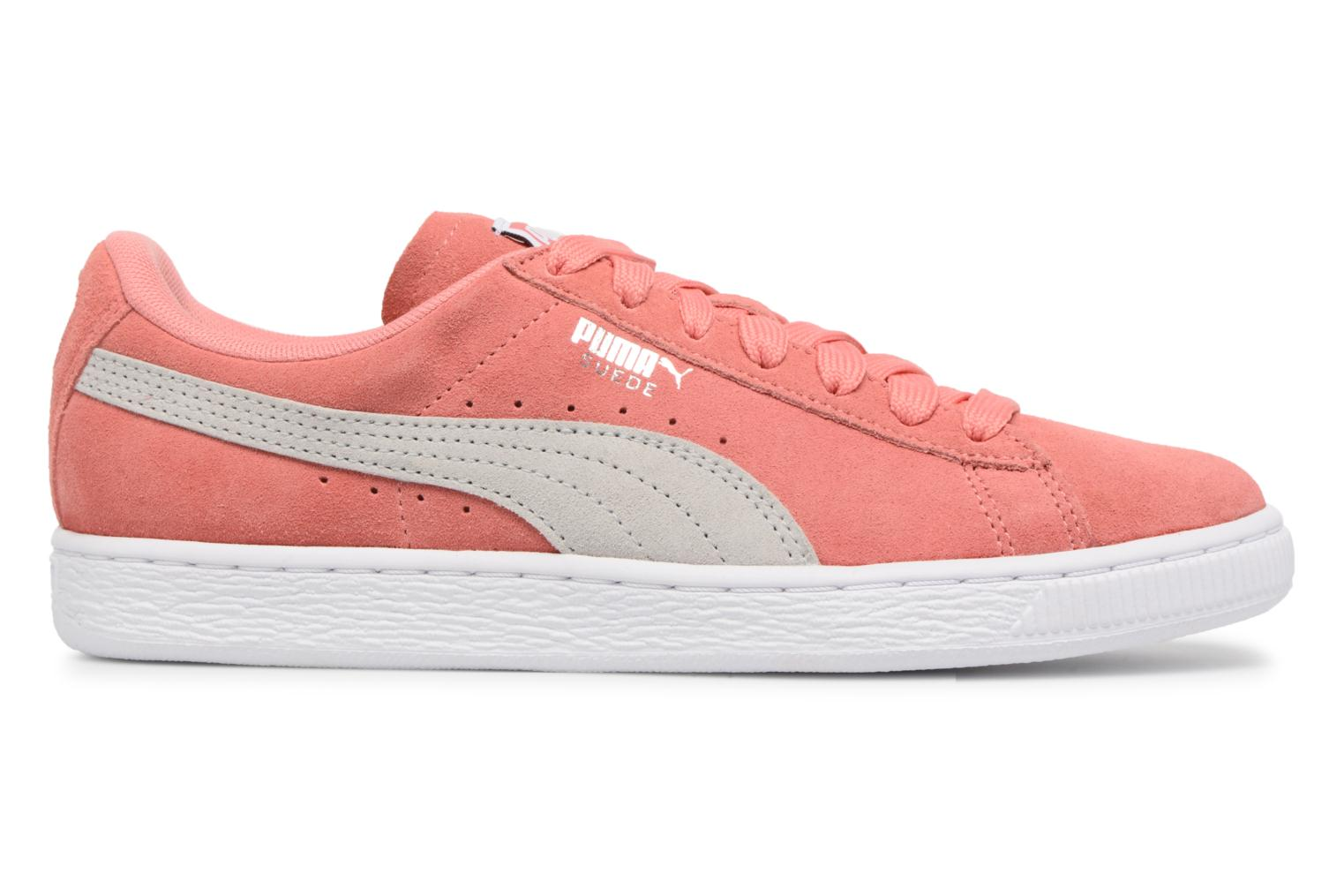 Suede Classic Wn's Shell Pink-Glacier Gray