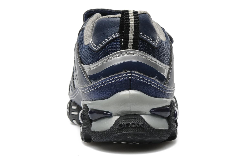 Baskets Geox J LTECLIPSE T Bleu vue droite