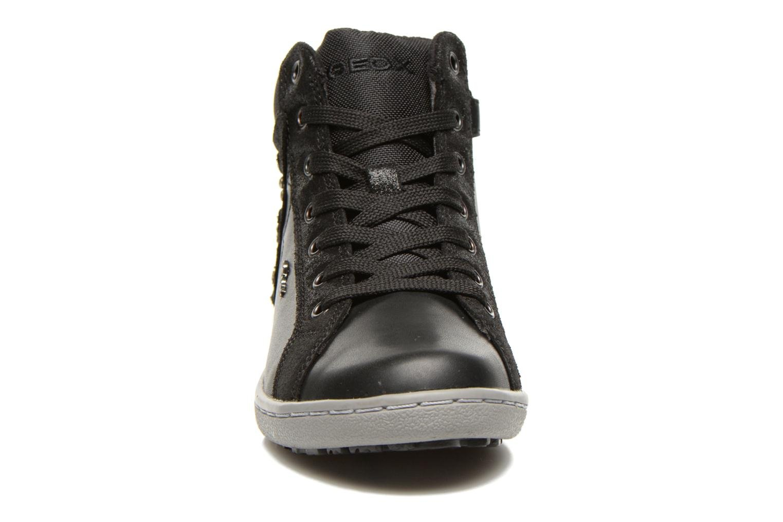 Baskets Geox J PRISCA A Noir vue portées chaussures