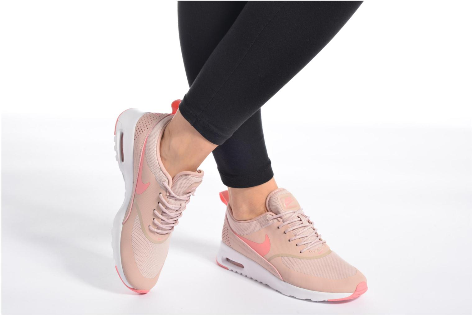 Trainers Nike Wmns Nike Air Max Thea Pink view from underneath / model view