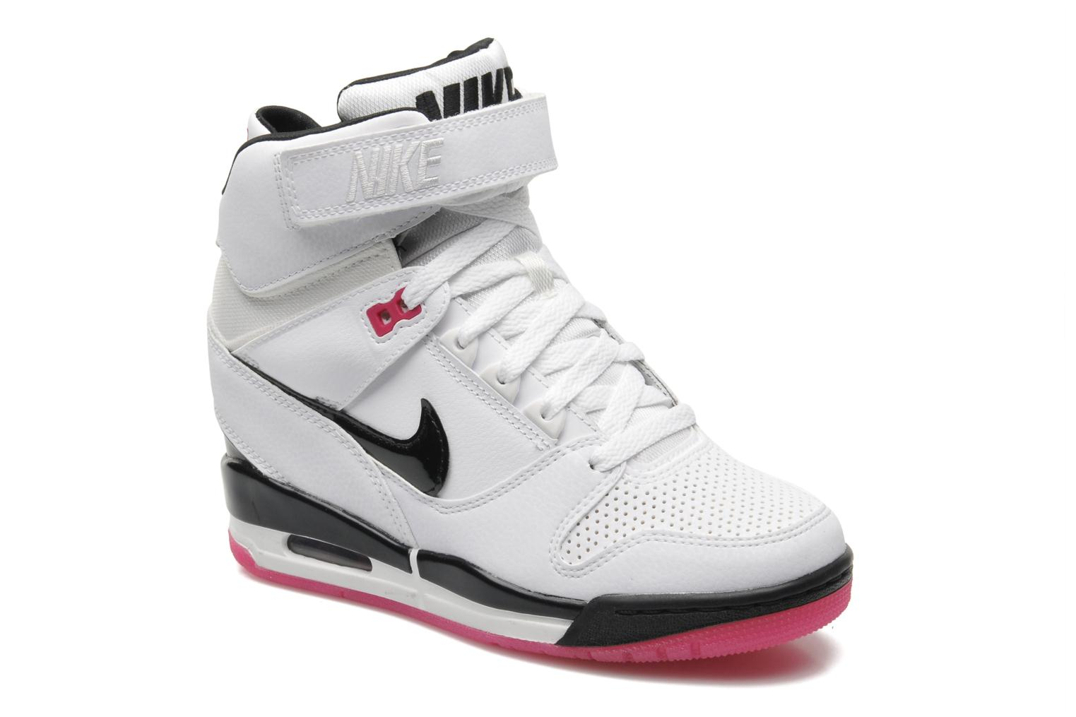 nike baskets air revolution sky hi femme blanche