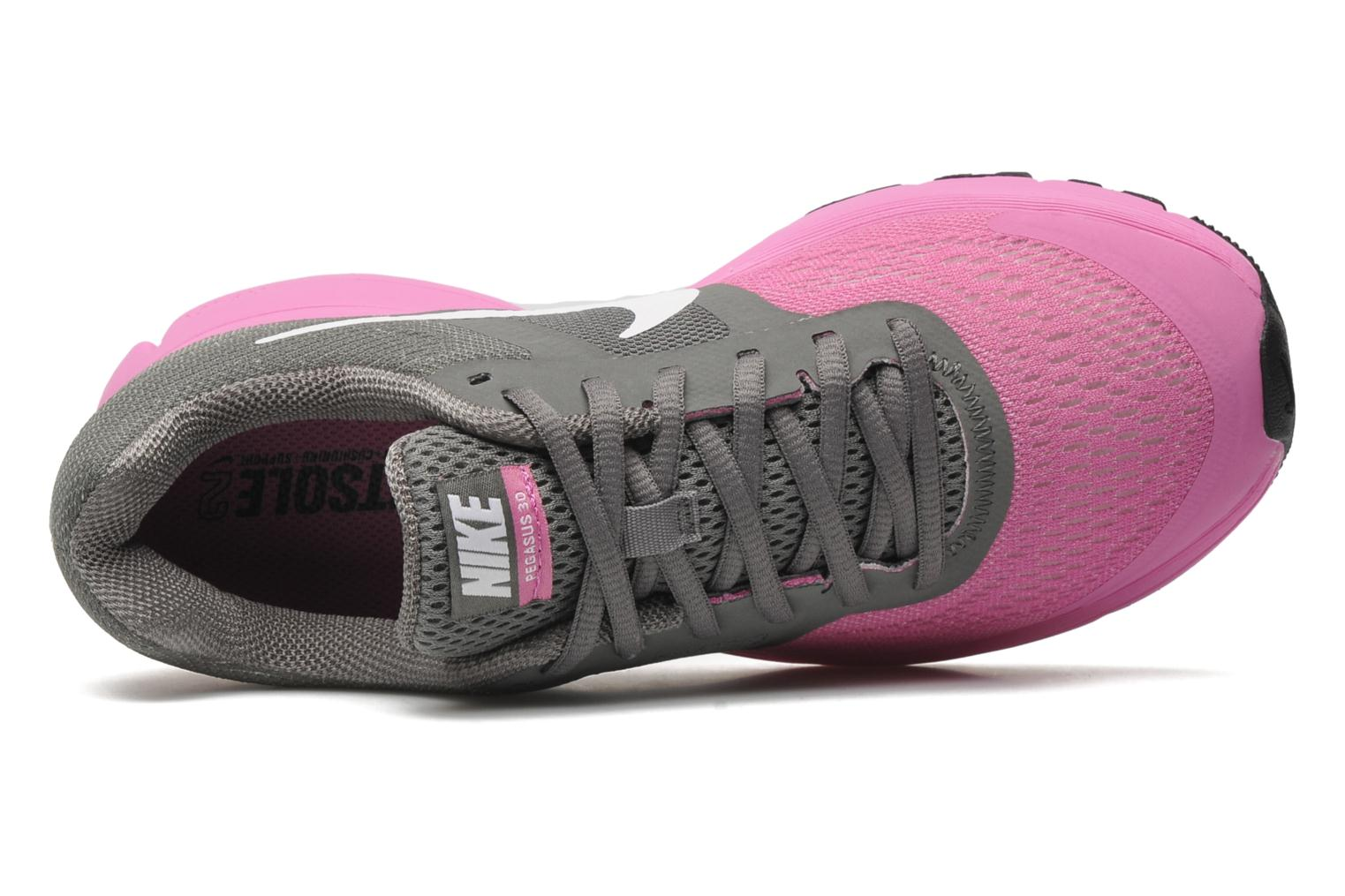 Sport shoes Nike Wmns Air Pegasus+ 30 Grey view from the left