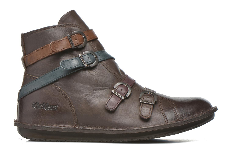 Bottines et boots Kickers WAXING Marron vue derrière