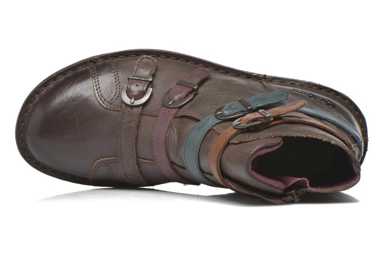 Bottines et boots Kickers WAXING Marron vue gauche
