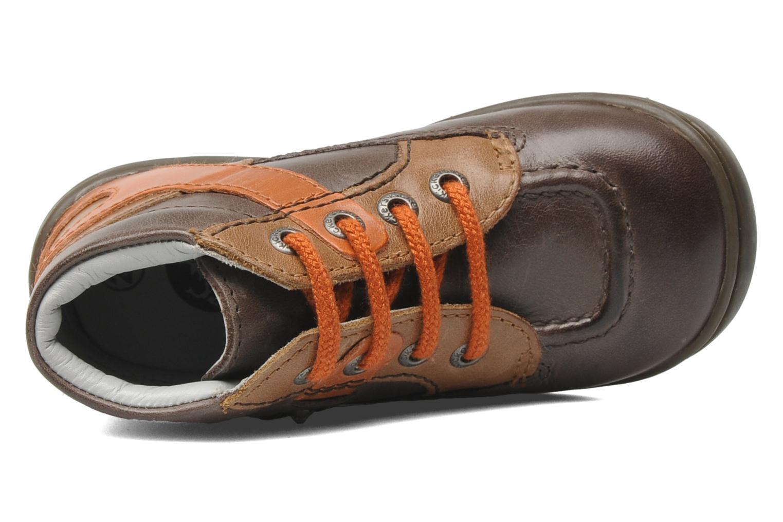 Bottines et boots Kickers GUILLEM Marron vue gauche