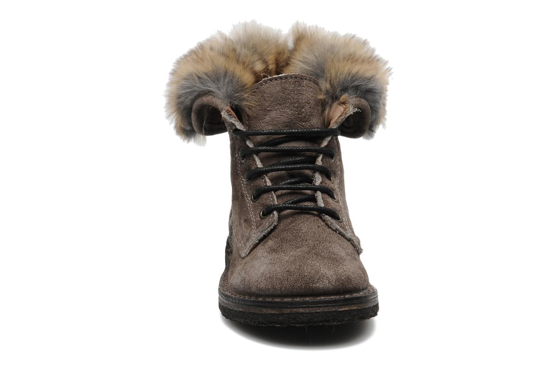 Bottines et boots PèPè S1807 Gris vue portées chaussures