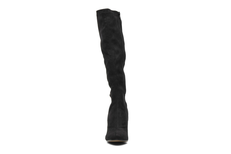 Bottes Georgia Rose Linsey stretch Noir vue portées chaussures