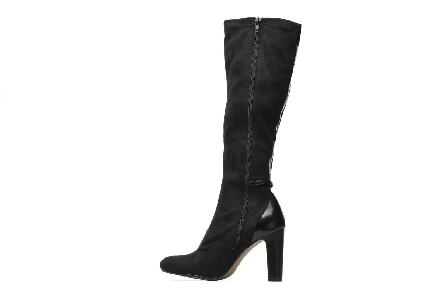 Boots & wellies Georgia Rose Linsey stretch Black front view