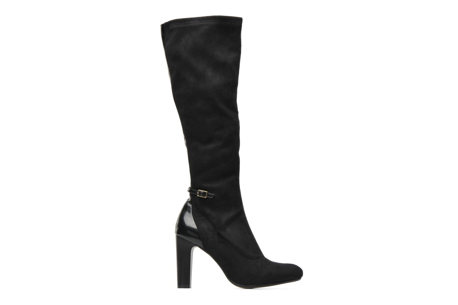 Boots & wellies Georgia Rose Linsey stretch Black back view