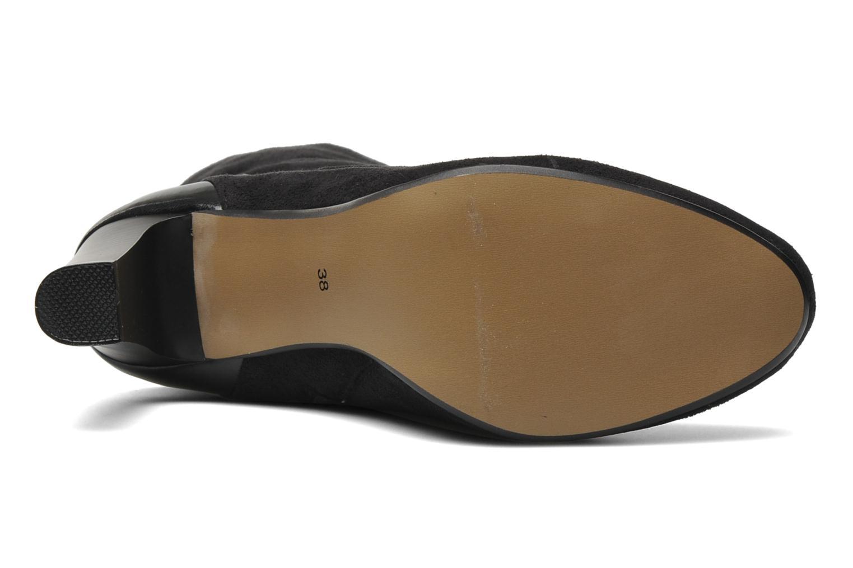 Stiefel Georgia Rose Linsey stretch schwarz ansicht von oben