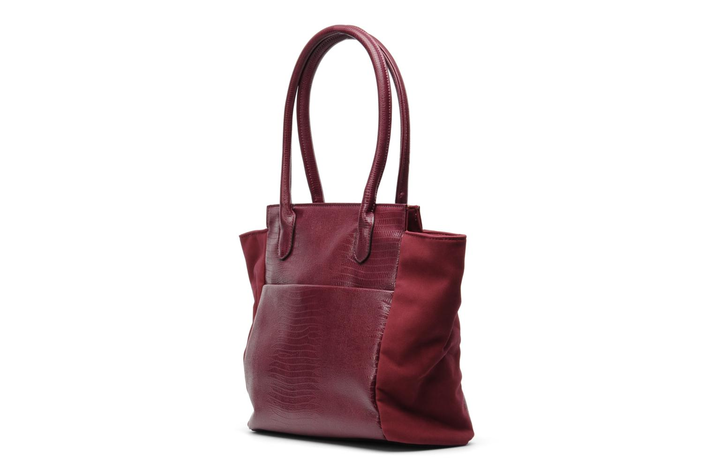 Handbags Georgia Rose Naïma Burgundy model view