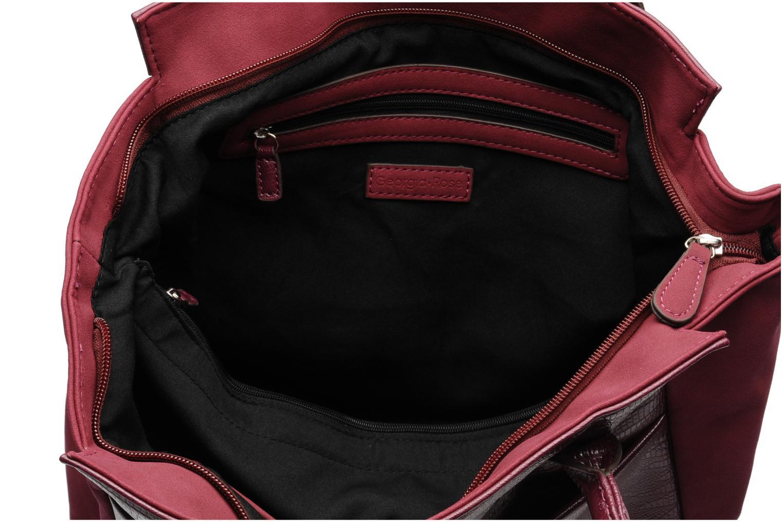 Handbags Georgia Rose Naïma Burgundy back view