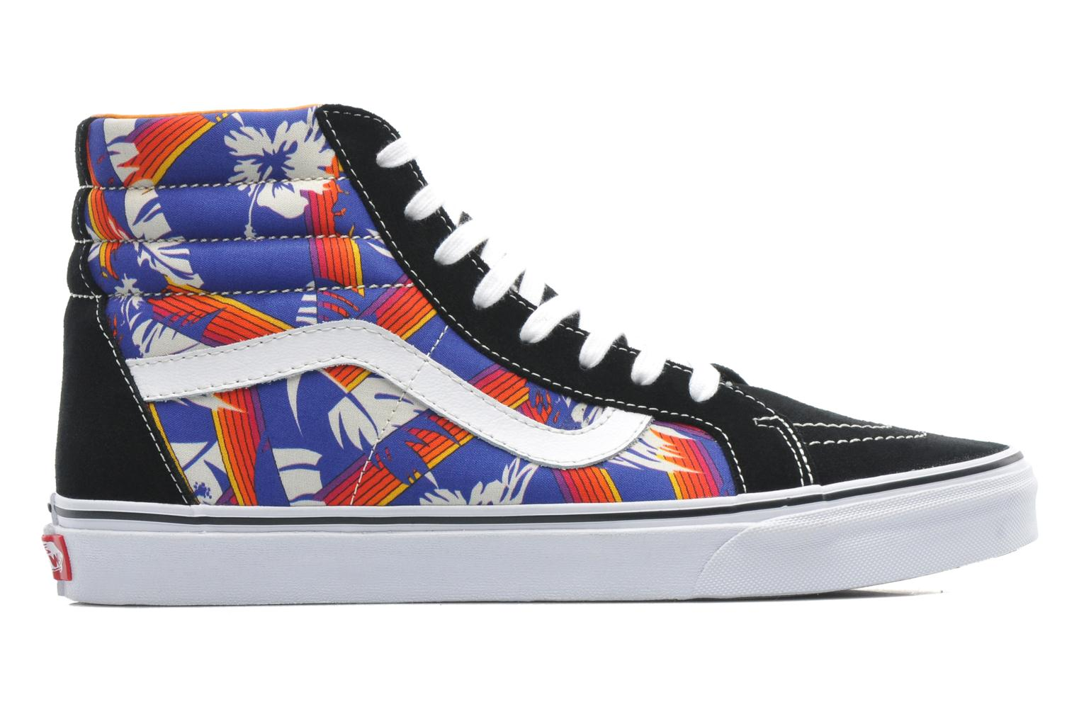 Trainers Vans Sk8-Hi Reissue Multicolor back view