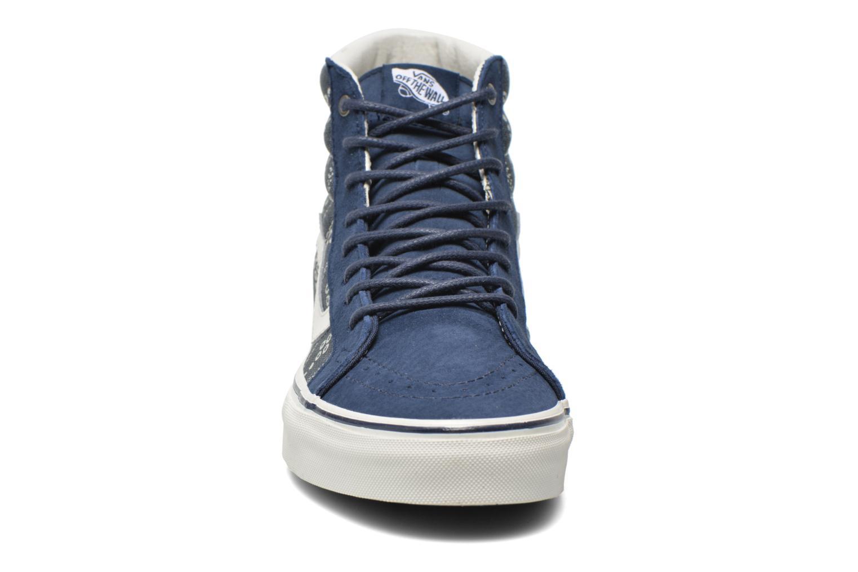 Baskets Vans Sk8-Hi Reissue Bleu vue portées chaussures