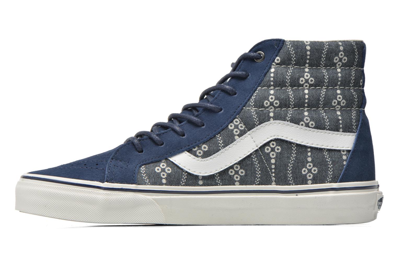 Sneakers Vans Sk8-Hi Reissue Azzurro immagine frontale