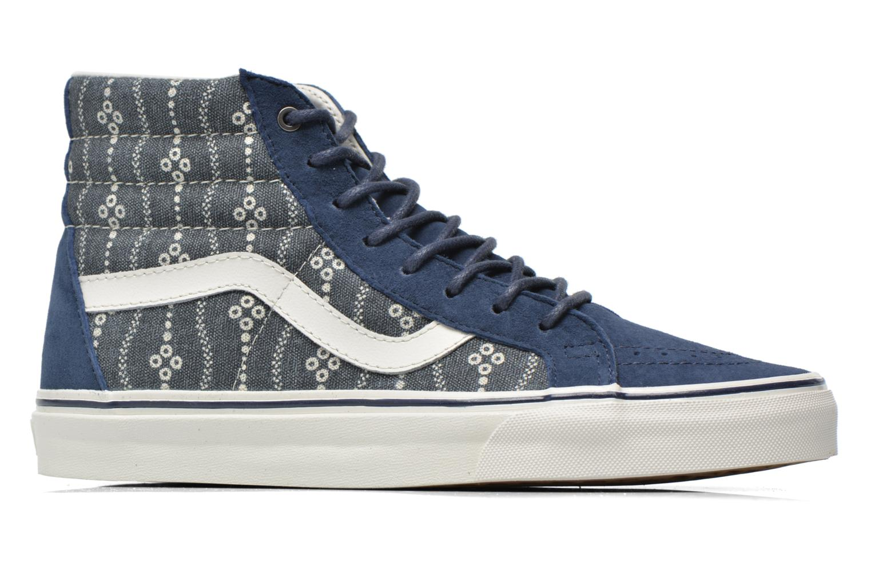 Sneakers Vans Sk8-Hi Reissue Azzurro immagine posteriore