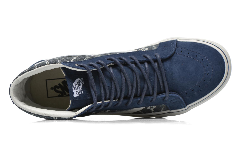 Sneaker Vans Sk8-Hi Reissue blau ansicht von links