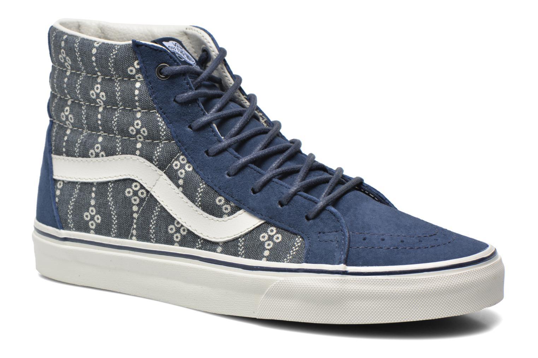 Sneaker Vans Sk8-Hi Reissue blau detaillierte ansicht/modell