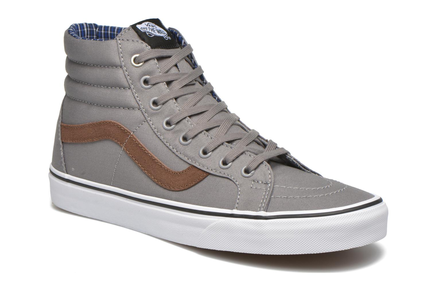 Sk8-Hi Reissue (Cord & Plaid) Frost Gray/True White