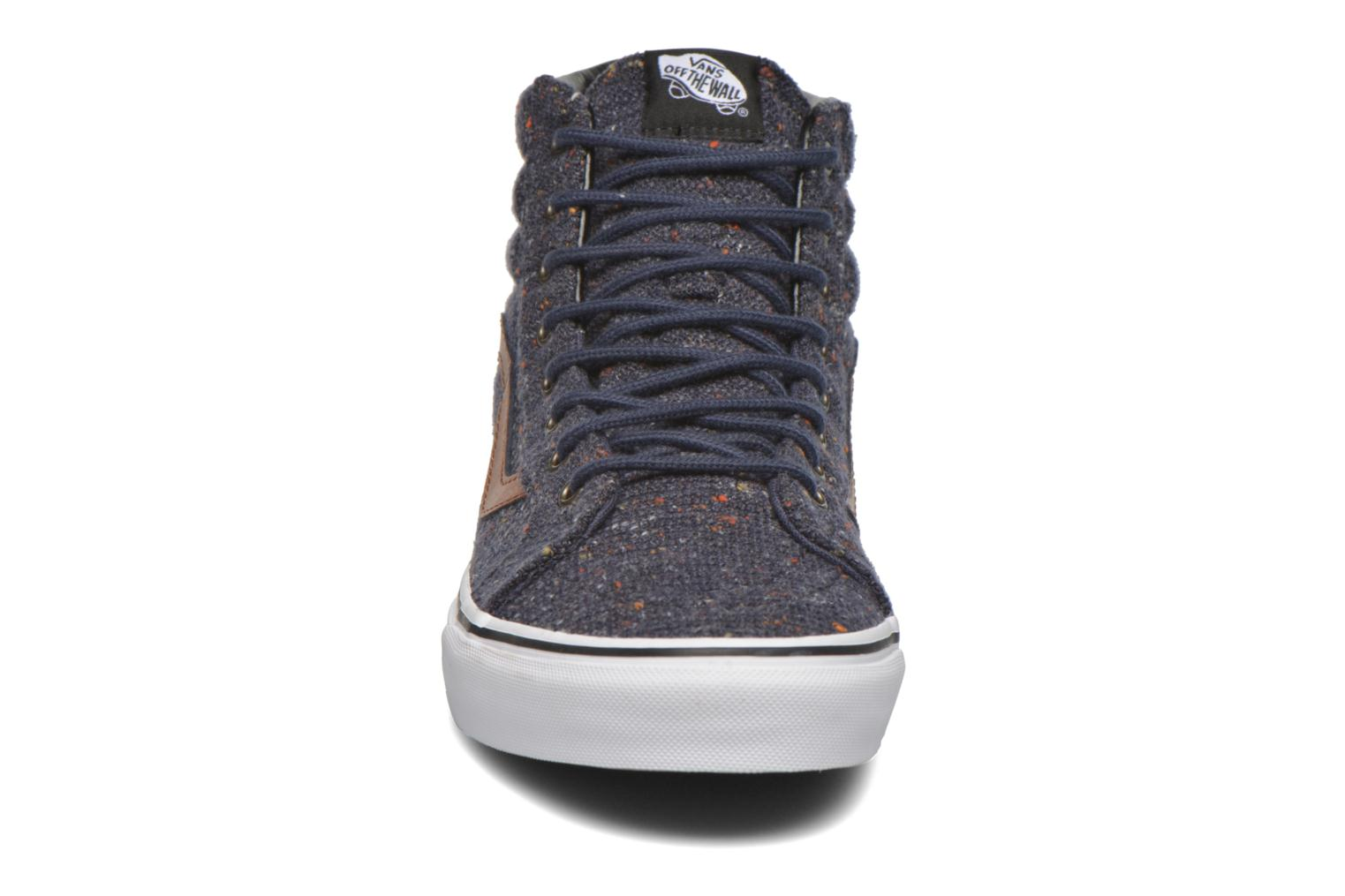 Sk8-Hi Reissue (Wool & Leather) Parisian Night/Tortoise Shell