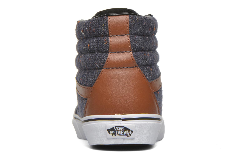 Baskets Vans Sk8-Hi Reissue Bleu vue droite