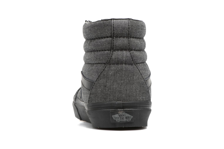 Sneaker Vans Sk8-Hi Reissue schwarz ansicht von rechts