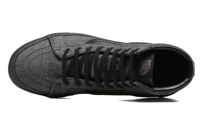 Sneaker Vans Sk8-Hi Reissue schwarz ansicht von links