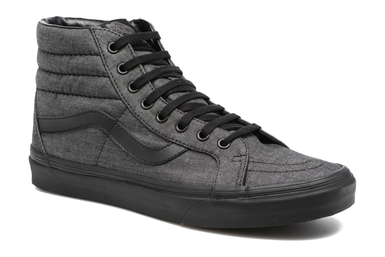 Sneaker Vans Sk8-Hi Reissue schwarz detaillierte ansicht/modell