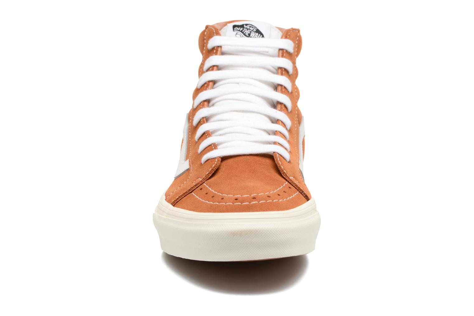 Trainers Vans Sk8-Hi Reissue Brown model view