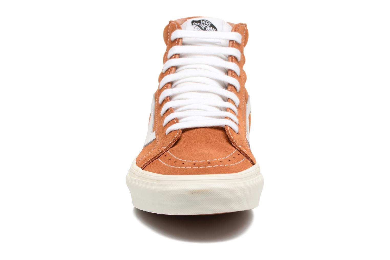 Sneakers Vans Sk8-Hi Reissue Marrone modello indossato