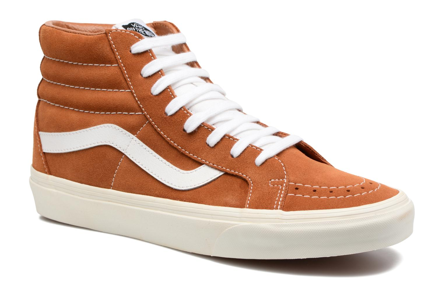 Trainers Vans Sk8-Hi Reissue Brown detailed view/ Pair view