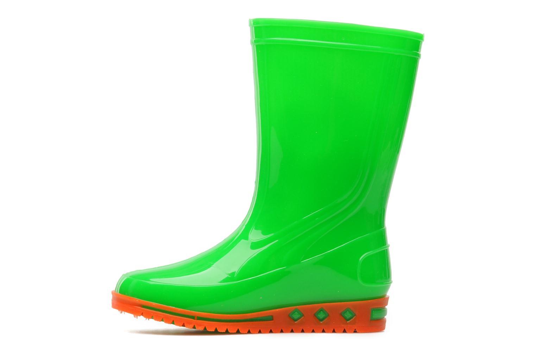Stiefel Méduse Boreal grün ansicht von vorne