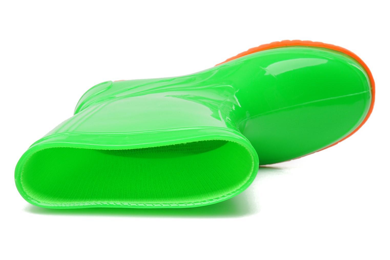 Bottes Méduse Boreal Vert vue gauche