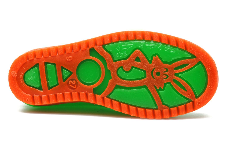 Stiefel Méduse Boreal grün ansicht von oben